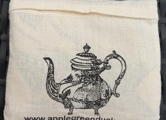 Folded Calico Tote Teapot