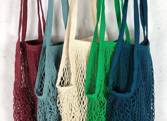 3 x CLASSIC STRING BAG ASSORTED COLOURS