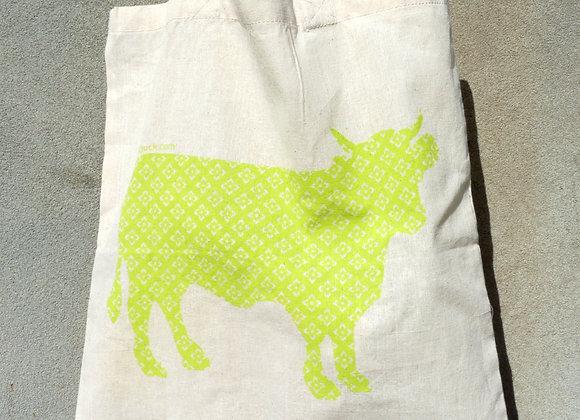 Flat Calico Sacks : Animals - cow
