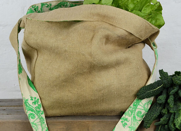 Washed Jute Bag Natural