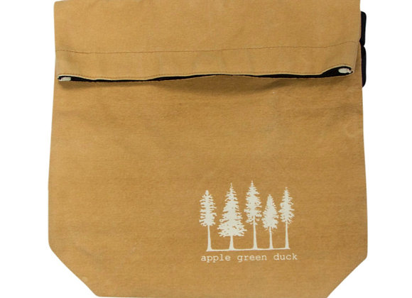 Canvas Sling Tote Ochre