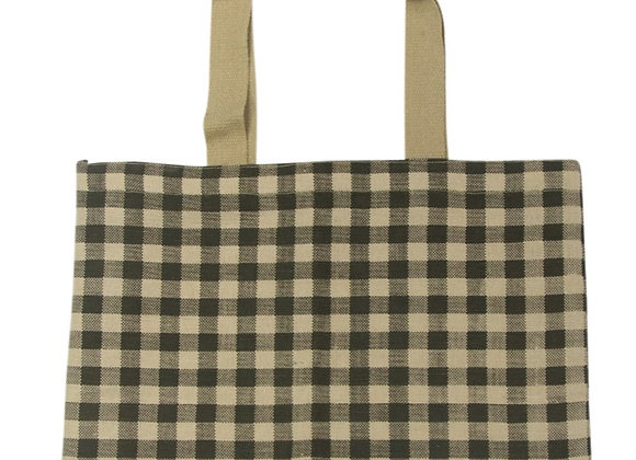 Gingham Tote Army