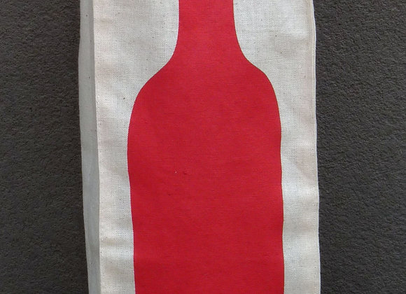 wine bags: red