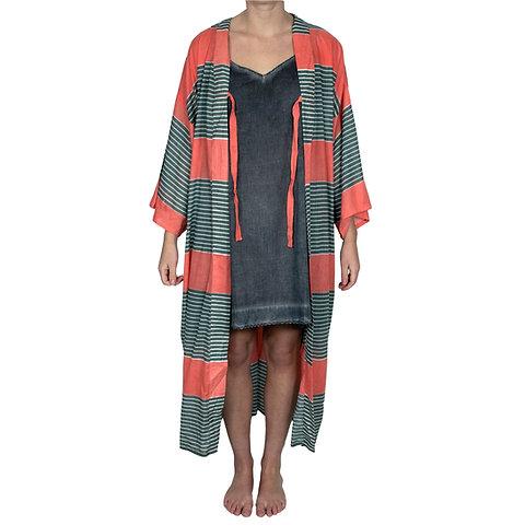 varios colores gran venta 100% de satisfacción Stripe Mango Kimono