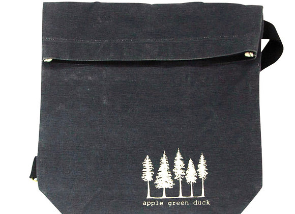 Canvas Sling Tote Navy