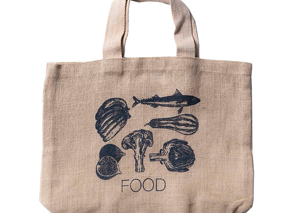 Food Grocer Bag Charcoal