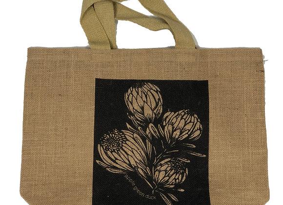 Grocer Bag King Protea Charcoal