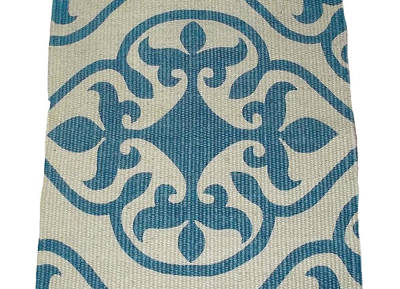 Jute Door Mat - 75 x 50 : baroque teal $19.54