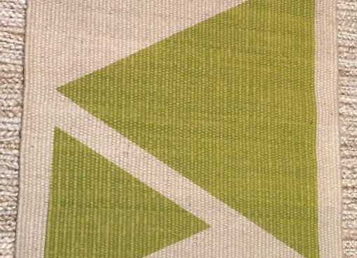 Triangle Green 75x50