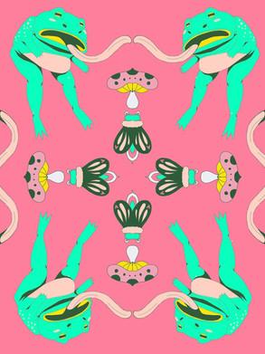 frog and moth pattern-lemon mingyue.JPG
