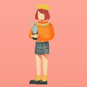 Happy day for aloe wee~_#illustration #p