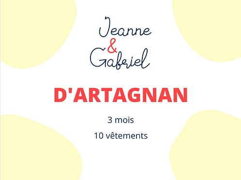 D'ARTAGNAN - 49€/mois