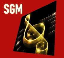 Логотип сайта гитарной музыки.