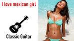 """Картинка - заставка для гитарной композиции """" Мексиканочка """"."""