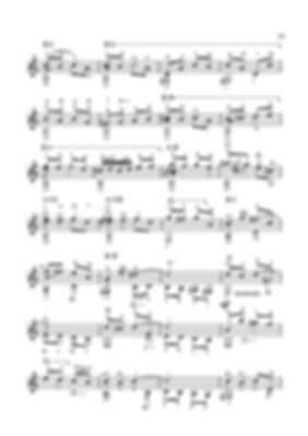 Ноты полифонической инвенции.Валерий Дзябенко. стр № 77