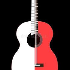 Обложка сборника с изображением гитары.