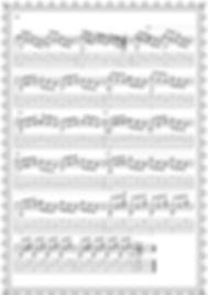 """Легкие пьесы и этюды.Альбом гитариста.Этюд № 5."""" Качели """". стр 22."""