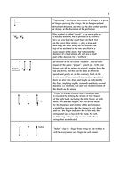Special notation used in guitar techniques for playing music. page 7. continued