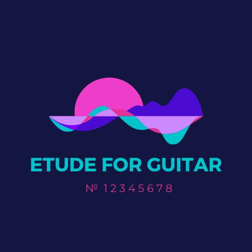 Этюд гитара