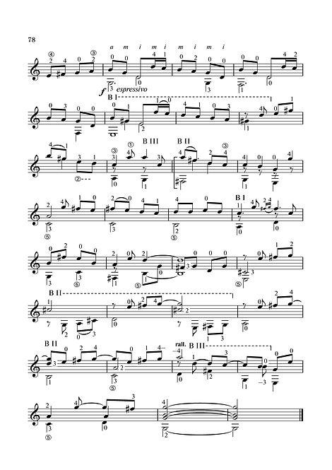 Sheetmusic Inventions for Guitar in C Major. page 78.Notenerfindungen für Gitarre in C-Dur. Seite 78.Invenções para partituras de guitarra em dó maior. página 78.Inventos de partituras para guitarra en do mayor. página 78.Spartiti musicali per chitarra in do maggiore. pagina 78.Blaðmús uppfinningar fyrir gítar í C-dur. bls. 78.Aireagáin Sheetmusic don Ghiotár i C Major. lch 78.Inventions de partitions pour guitare en do majeur. page 78.Noter för gitarr i C-dur. sidan 78.Sheetmusic vynálezy pro kytaru v C dur. strana 78.C Majör Gitar için Sheetmusic Buluşlar. sayfa 78.Wynalazki nutowe na gitarę C-dur. strona 78.Sheetmusic találmányok gitárra C-dúrban. 78. oldal.Sheetmusic opfindelser til guitar i C-dur. side 78.