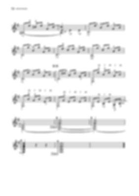 Score for guitar Valery Dzyabenko. Toccata in E minor - continued. page 72