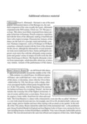 History of music genres. Allemand and Bourrée. Dance suites. Description. page 79