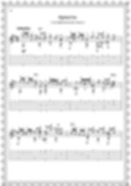 """Легкие пьесы и этюды.Альбом гитариста."""" Ариетта """". стр 18."""