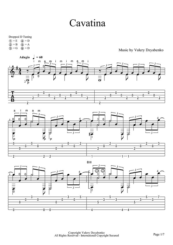 Ноты лирико-космической музыки для гитары.Каватина.Score of lyric-space music for guitar. Spartito di musica lirica spaziale per chitarra Cavatina. Partitura de música lírica-espacial para guitarra Cavatina. Partitur von Lyric-Space-Musik für Gitarre. Cavatina. Partitura de música do espaço-lírico para violão.Skóre lyricko-vesmírné hudby pro kytaru, Cavatina. Betyg av lyrisk rymdmusik för gitarr Cavatina. Poeng av lyrisk rommusikk for gitar Cavatina.