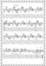 """Легкие пьесы и этюды для гитары.Альбом гитариста. Пьеса """" Падал снег """".стр.3"""