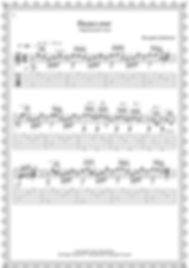 """Легкие пьесы и этюды для гитары.Альбом гитариста. Пьеса """" Падал снег """".стр.2"""