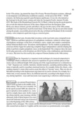 History of musical genres.Inventions, Sequences.Dance Suites. Description. page 81