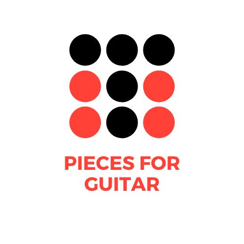 пьесы для гитары