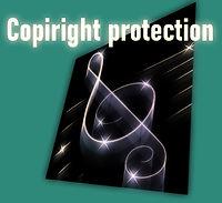Protezione del copyright dal download e dalla copia non autorizzati di spartiti.