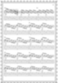 """Легкие пьесы и этюды.Альбом гитариста.Этюд № 5."""" Качели """". стр 21."""