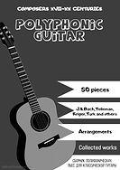 Titelbild einer Sammlung polyphoner Musik für klassische Gitarre.
