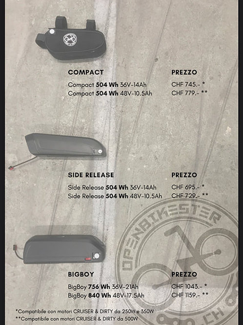 OPEN BIKSTER - Compact 504