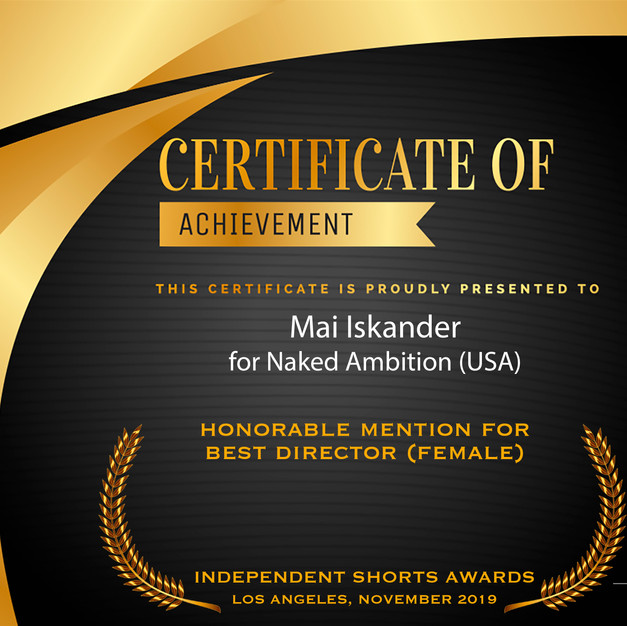 Best Director(Female)