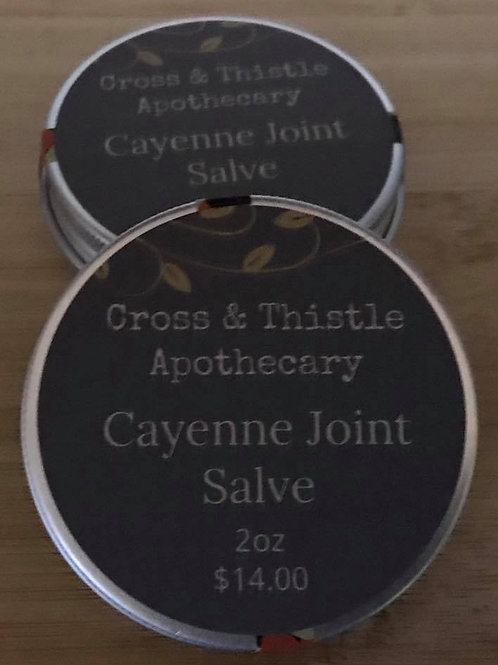 Cayenne Joint Salve 2oz