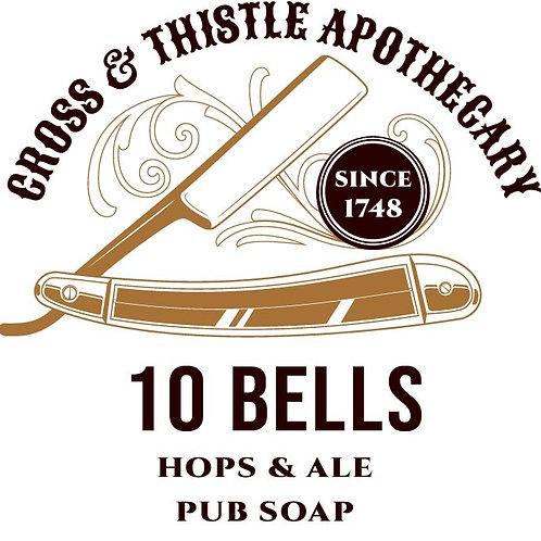 10 Bells hops & ale soap
