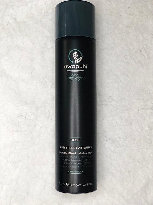 Awapuhi Antifrizz Hairspray 9.1 oz
