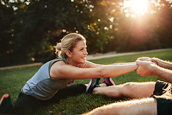 young-health-couple-exercising-in-park-P