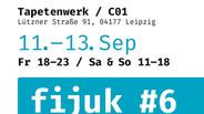 FIJUK #6 / Messe für Buchkunst, Grafik, Illustration und Comic