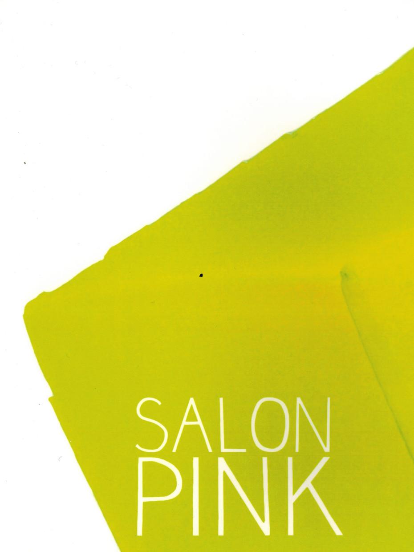 "EXHIBITION CATALOG ""SALON PINK"""