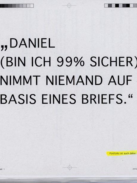ERASMUSSEMESTER Akademie der bildenen Künste, Prof. Daniel Richter