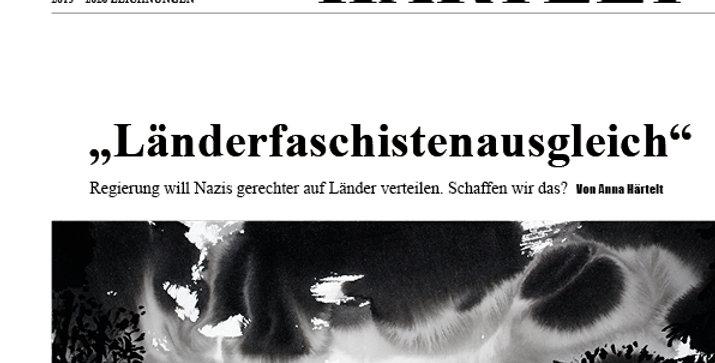 Edition LÄNDERFASCHISTENAUSGLEICH