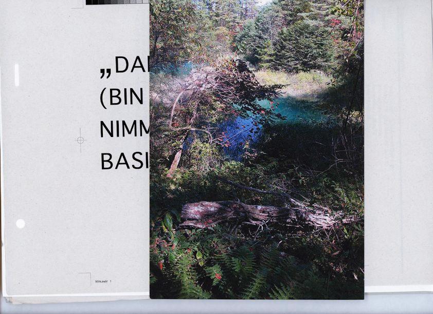 "Portfolio, Postkarte der Arbeit ""...Yet so far."" / Portfolio, postcard of work ""...Yet so far."""