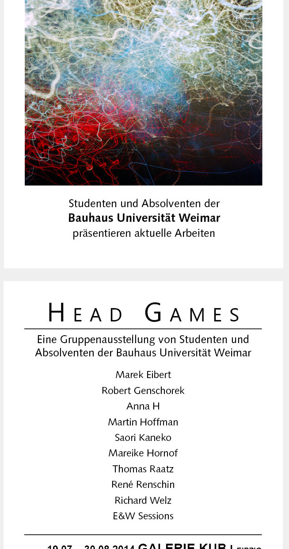 """EXHIBITION """"HEAD GAMES"""""""