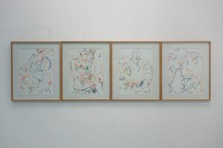 """Ausstellungsansicht """"Bagger Hart"""" / Gruppe Zustand / Quiddezentrum e.V. / München"""
