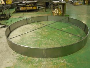 ブラザーテック施工例:円形看板