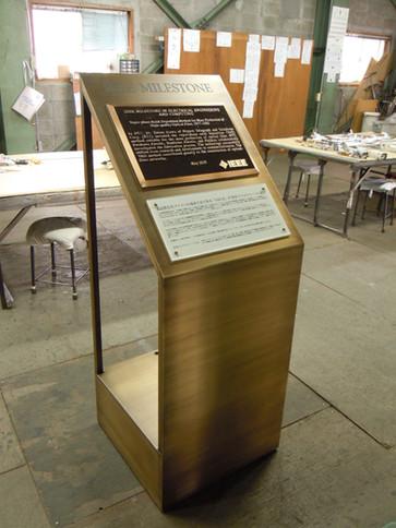ブラザーテック施工例:インフォメーションボード 板古美色